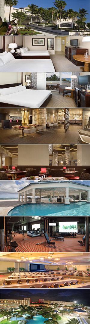 2017 conference hotel, Meliá Nassau Beach