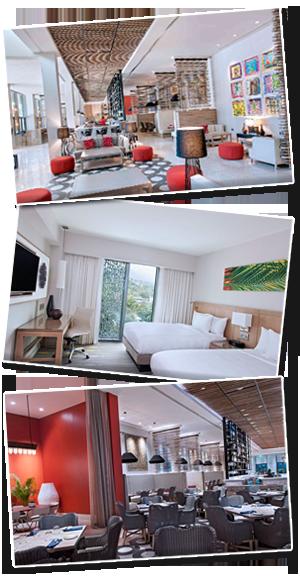 Marriot Hotel highlights