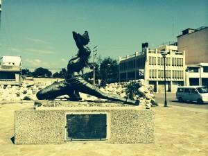 Haitian liberation statue