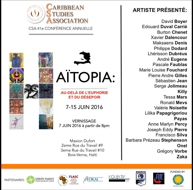 Haitopia art exhibit