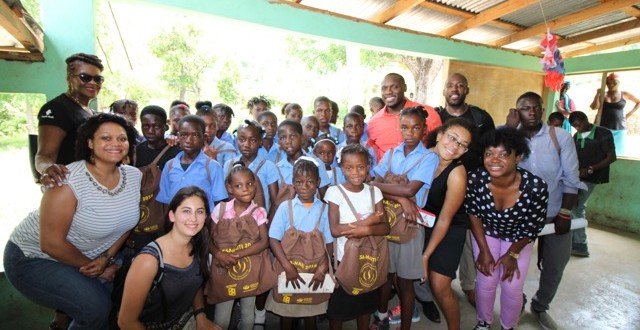 community service in Haiti