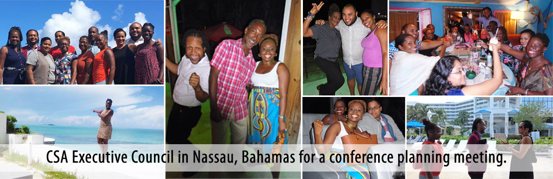 CSA Executive Council in Nassau, Bahamas for a conference planning meeting.