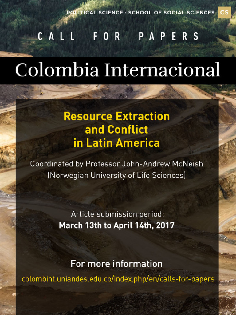 Resource Extraction and Conflict in Latin America