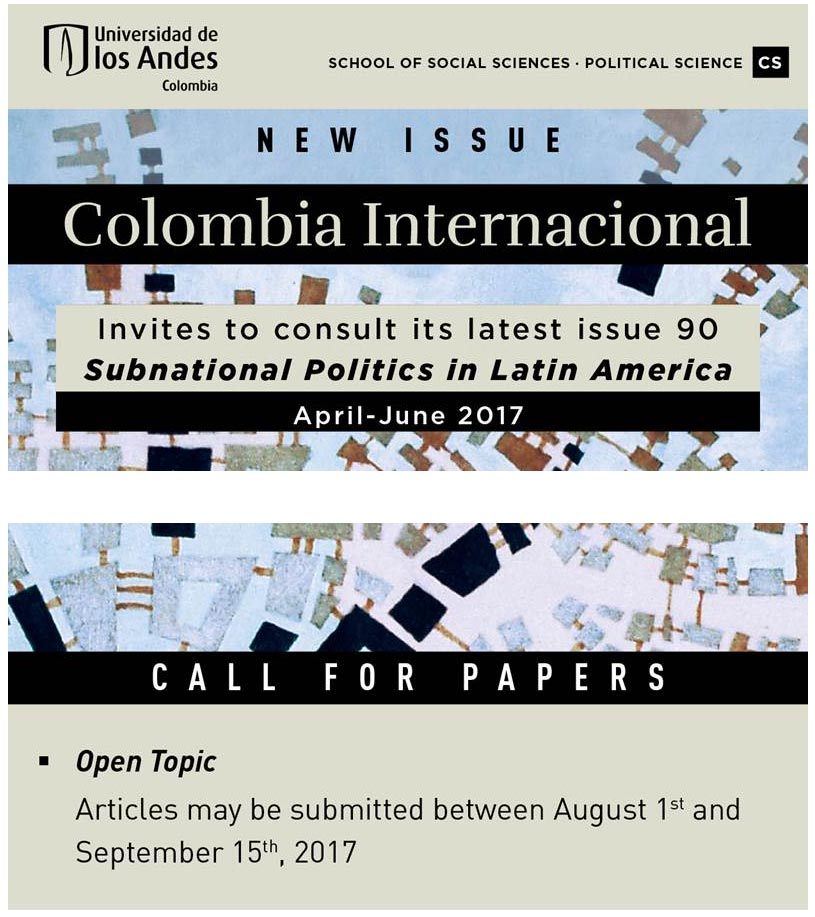Subnational Politics in Latin America CFP