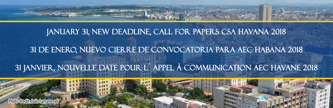 2018 CSA Conference Call for Papers