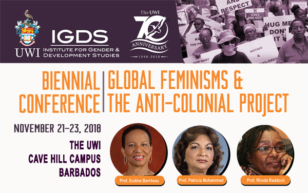Biennial Global Feminisms and the Anti-Colonial Project banner