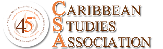 Caribbean Studies Association 45th anniversary logo