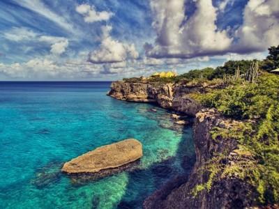 ocean in the Caribbean