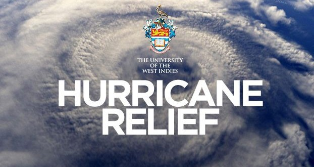 University of the West Indies hurricane relief