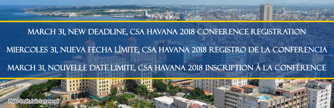 CSA Conference registration deadline
