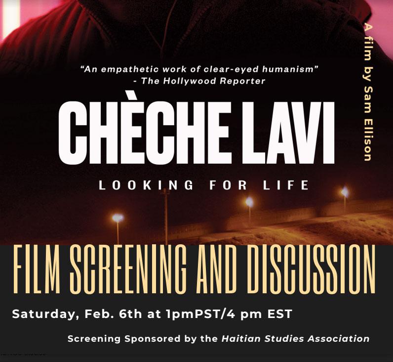 Cheche Lavi film screening