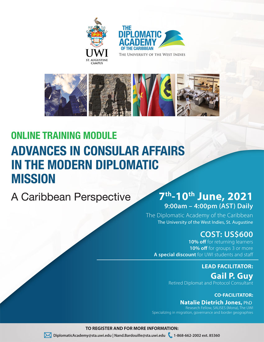 DAOC Online Training Module: Advances in Consular Affairs in the Modern Diplomatic Mission: A Caribbean Perspective