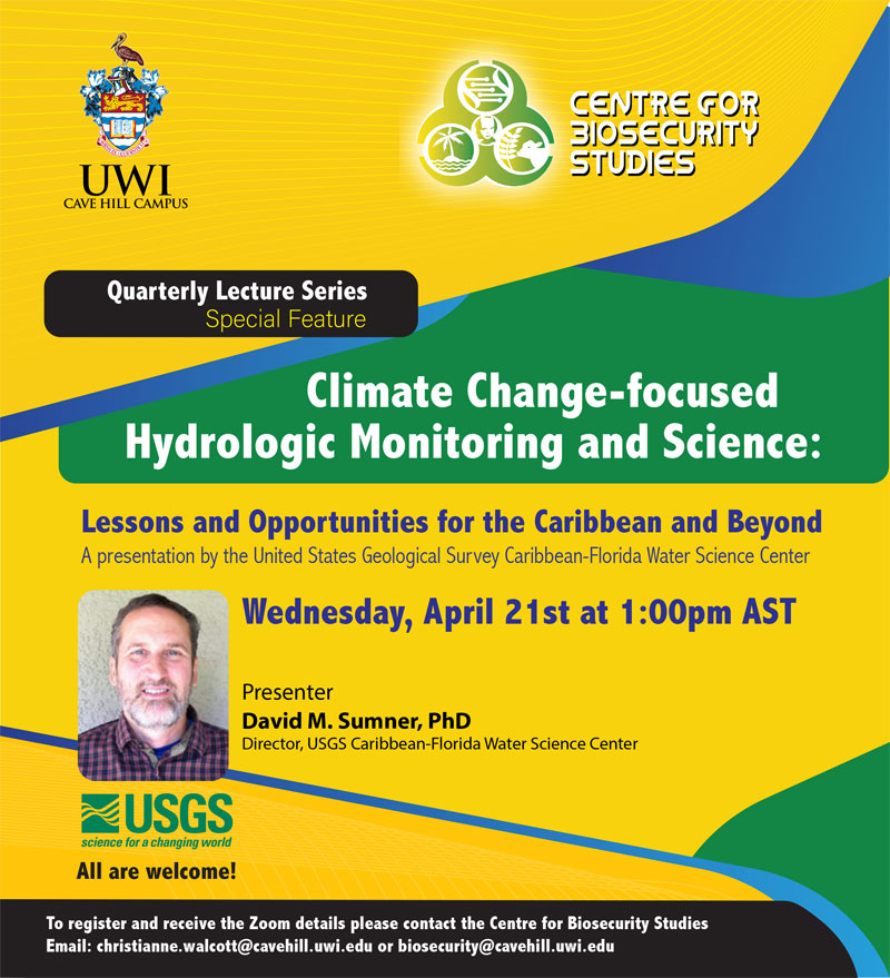 Climate Change-focused Hydrologic Monitoring and Science flyer