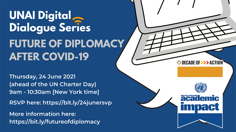 Future of Diplomacy after COVID-19 webinar